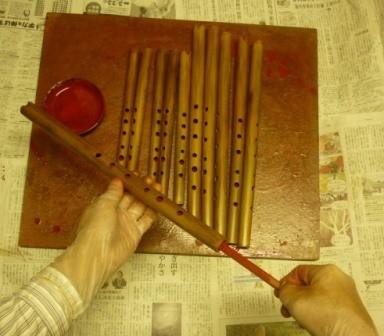 オリジナルケーナ 管内漆塗り