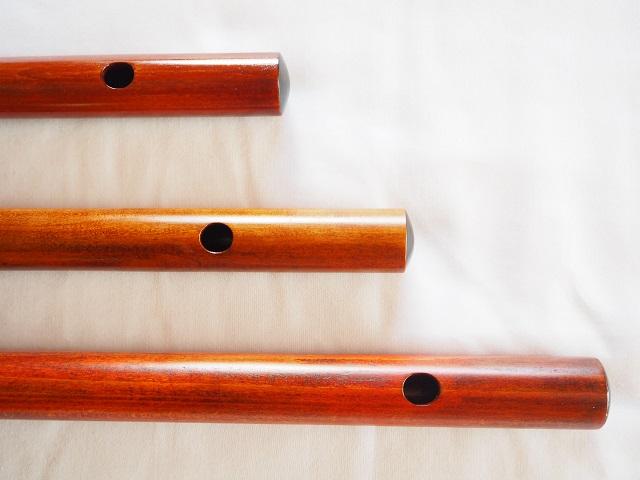 オリジナル横笛(木製)G・F管 オリジナル横笛(木製) G・F管  Original Wood Flute 吹き口