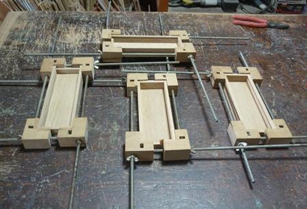 木の筆箱 本組立て