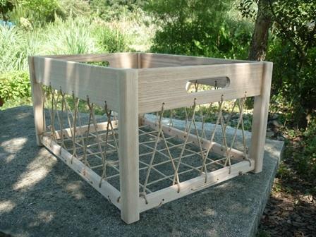 木製ランドリーボックス