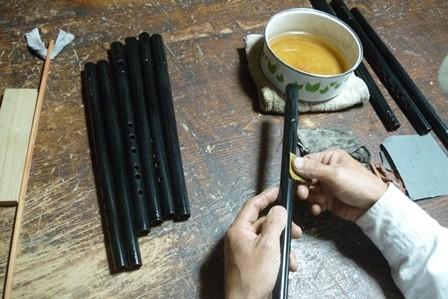 オリジナル横笛C管水研ぎ