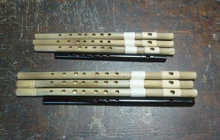 オリジナル横笛特別注文 7孔横笛D管B♭管