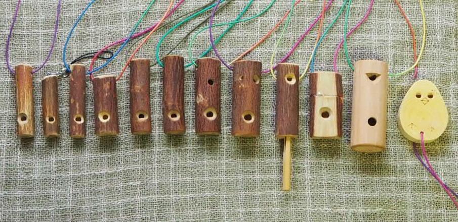 鳥笛雑木笛シリーズ全12種