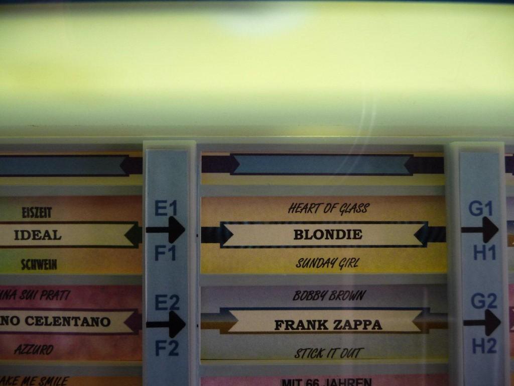 Blondie wird gespielt wie in der Titelanzeige vorher angezeigt