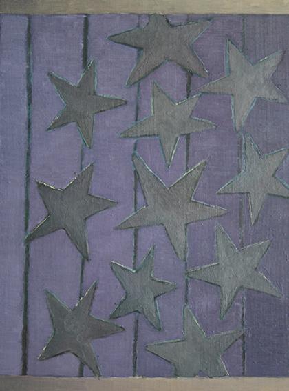 灰色の星座/oil on canvas 530x455