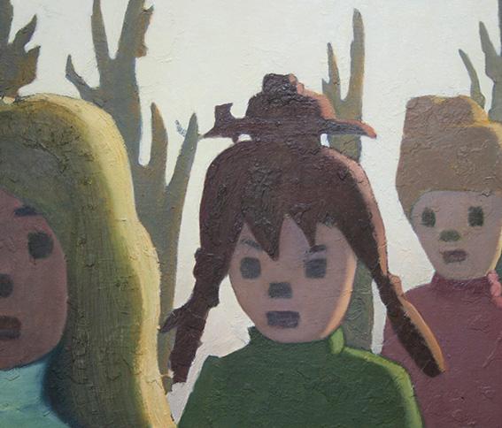 行進/oil on canvas 455x530