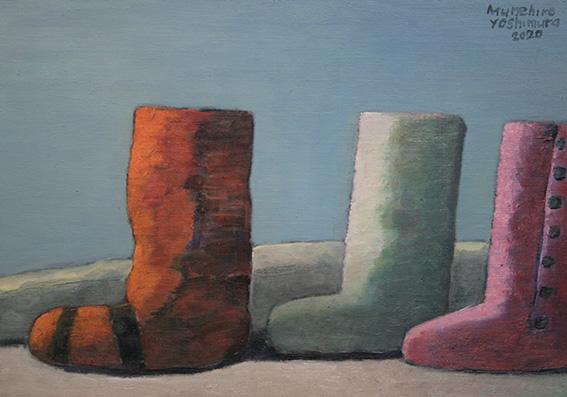 ブーツ/oil on canvas 318×410