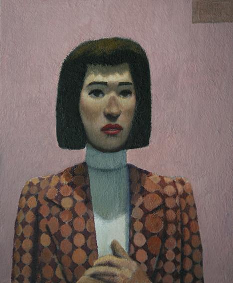 看護部長の恋/oil on canvas 455×380