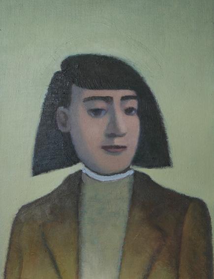 北方の旅行者/oil on canvas 410×318