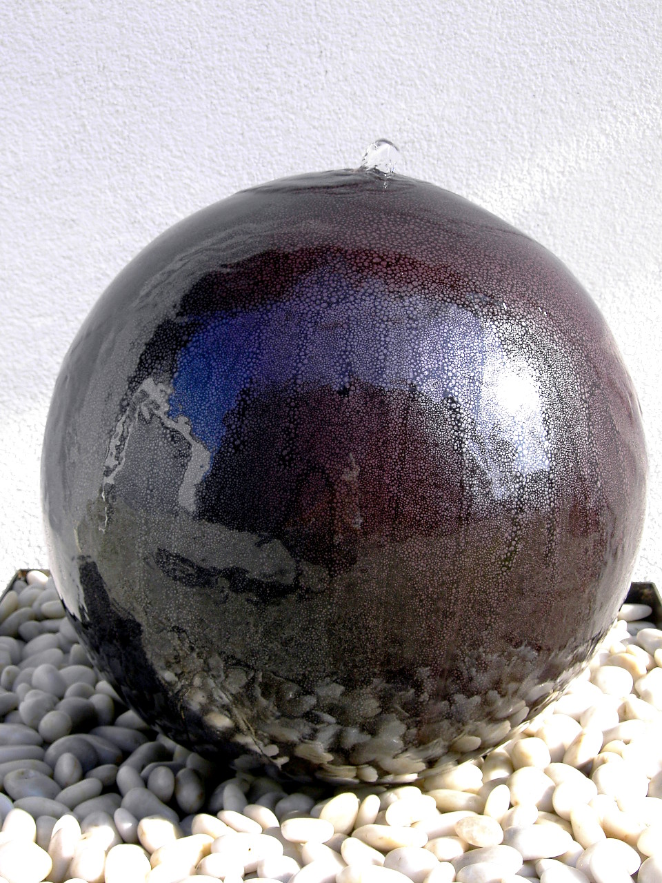 Brunnen kugeln seebach keramik - Gartenbrunnen keramik ...