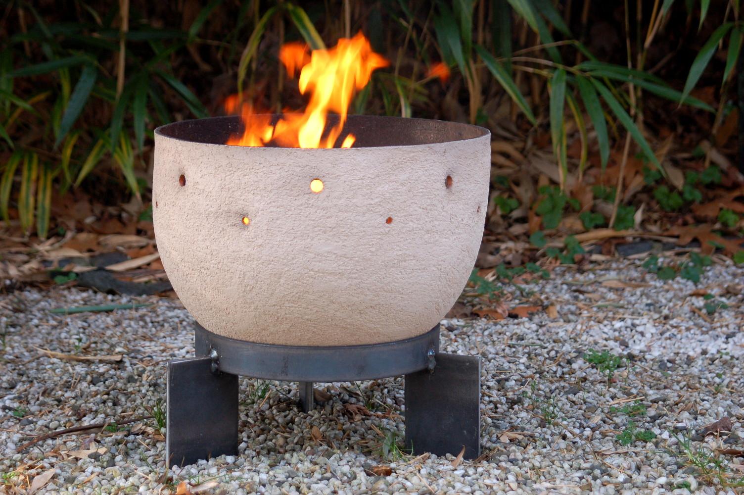 feuerschale hekla seebach keramik. Black Bedroom Furniture Sets. Home Design Ideas