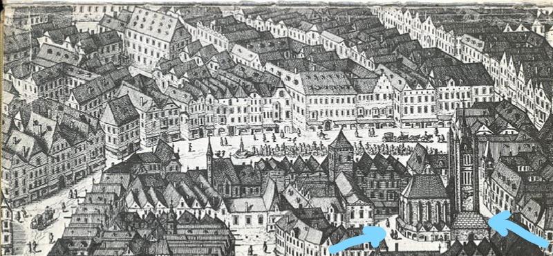 Peterskirche e Petersplatz a Vienna