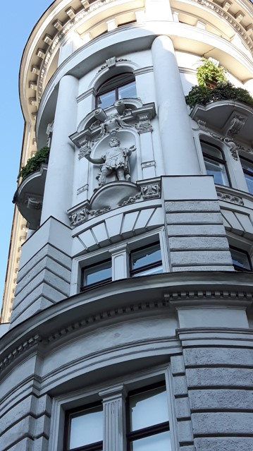 Marc Aurel Straße Ecke Sterngasse
