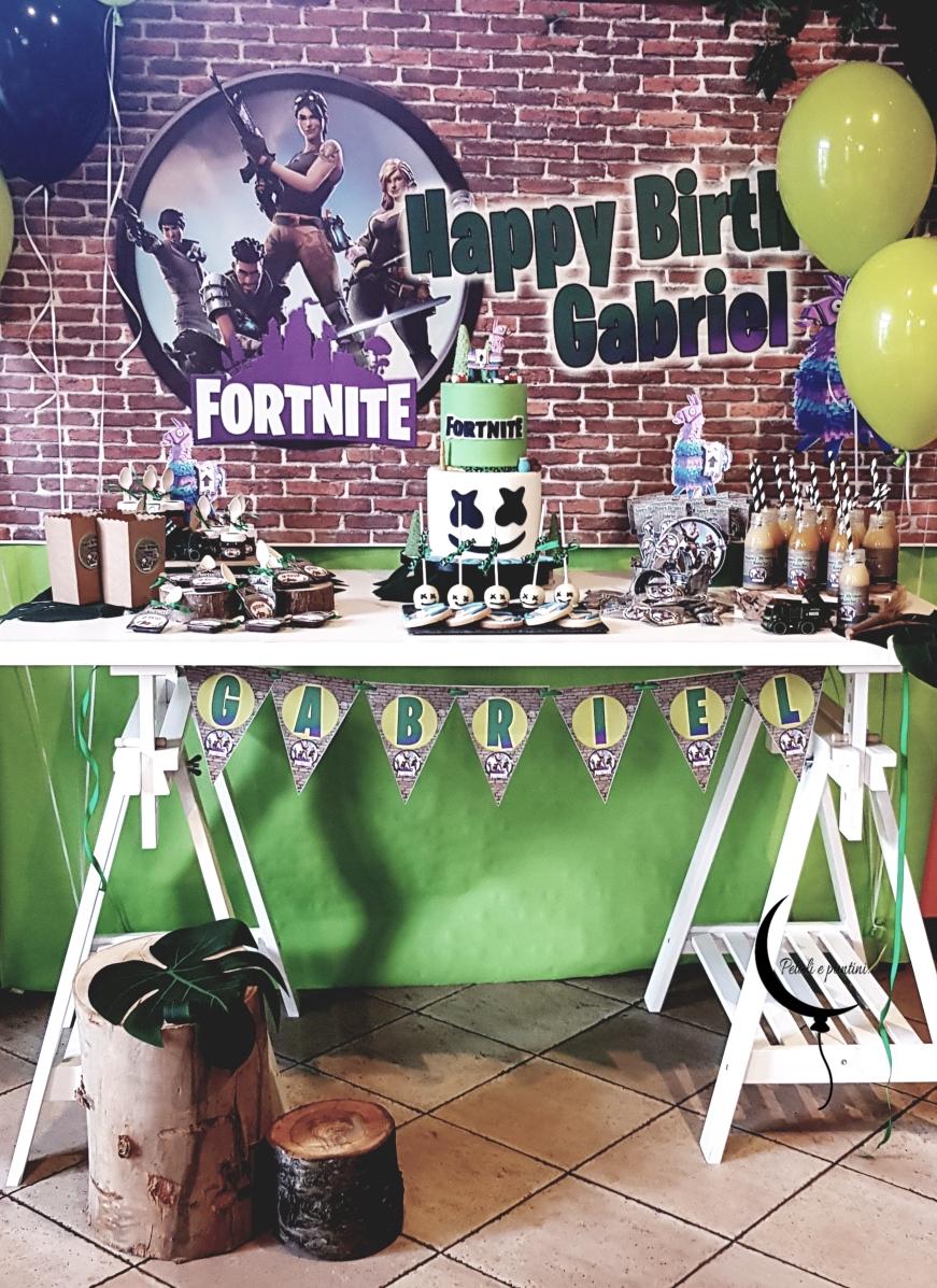 Sweet table Fortnite