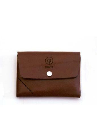 Leder Geldbeutel, kleines Portemonnaie braun