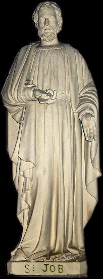 Statue de Saint JOB Eglise de Cambernon Manche