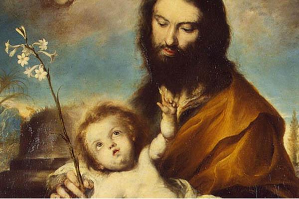 Saint Joseph Gardien de la Sainte Famille