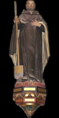 Statue Eglise Saint Hilairedu Harcouët Manche
