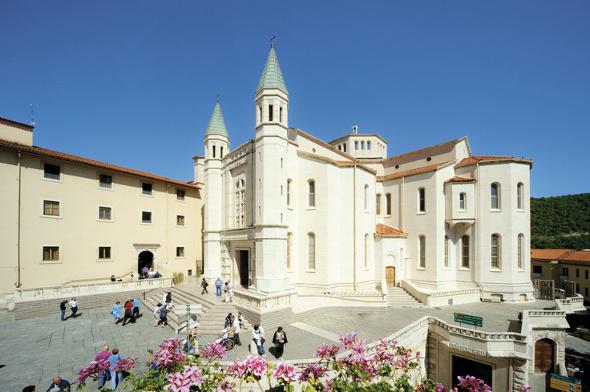 Cascia Basilique Sainte Rita
