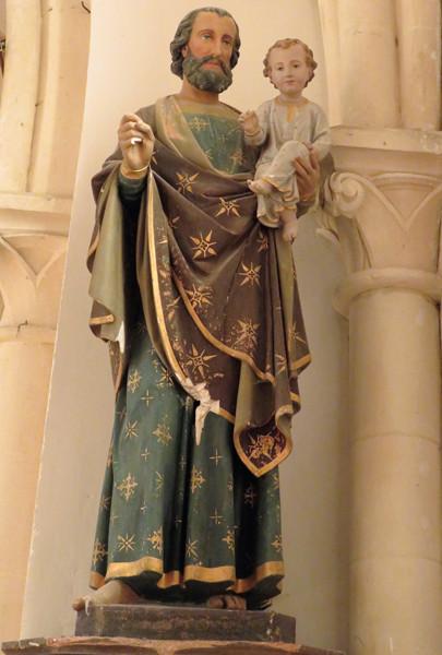 Saint Joseph Eglise des Champs de Losque Manche 50