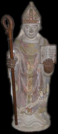 Statue de Saint Marcouf Eglise de Amigny Manche