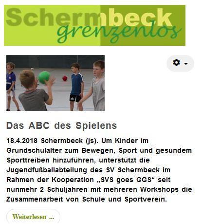 """Bericht zum Workshop """"Das ABC des Spielens""""."""
