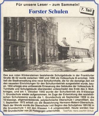 Quelle: Forster Wochenblatt