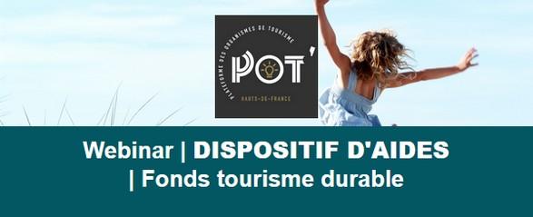 Webinar Fonds Tourisme Durable