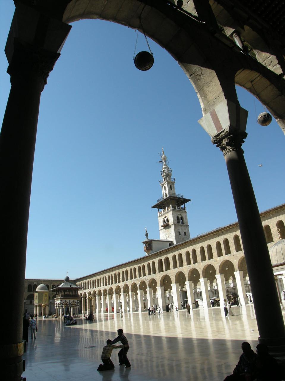 Syrien: Omayyaden-Moschee in Damaskus, die erste Moschee der Welt