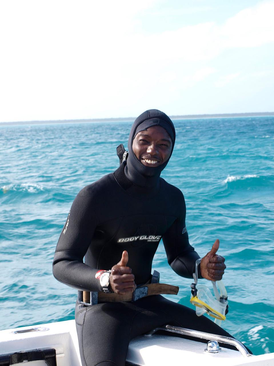 Bahamas: Angler- und Schnorchlerglück
