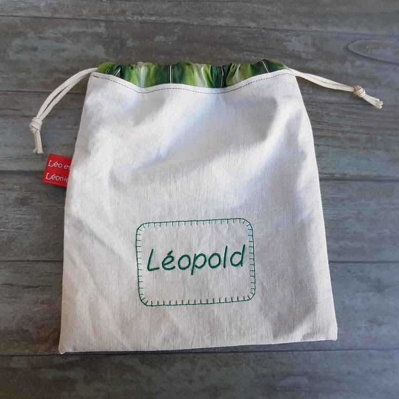 pochons - Léo et Léonie Créations artisanales en tissuLéo et Léonie, la boutique