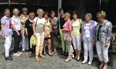 Gruppenaufnahme vom Treffen der Unternehmerfraune in Heiligenstadt