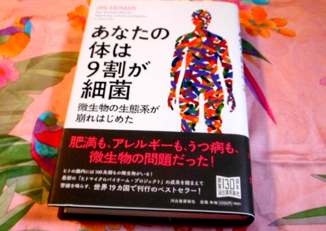 あなたの体は9割が細菌