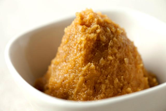 伝統的な発酵食品『味噌」