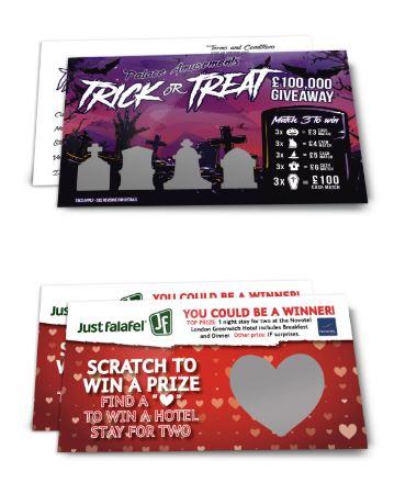 Scratch Card Printing UK
