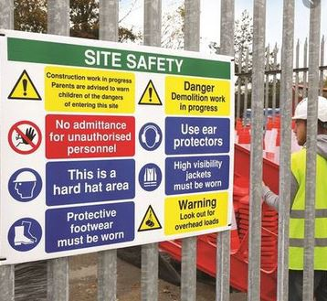 Printed Health and Safety Signs UK