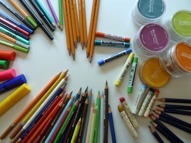 Öl- & Pastellkreiden, Farb-, Blei- & Filzstifte