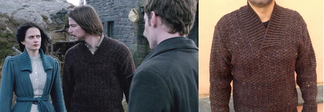 """Maglia confezionata per Josh Hartnett, serie televisiva """"Penny Dreadful"""", costumi di Gabriella Pescucci"""