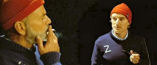 """Cappelli e maglie confezionati per il film """"Le avventure acquatiche di Steve Zissou"""", costumi di Milena Canonero"""