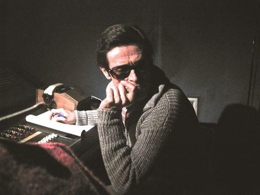 "Pullover realized for William Dafoe, film ""Pasolini"", costume designer Rossano Marchi"