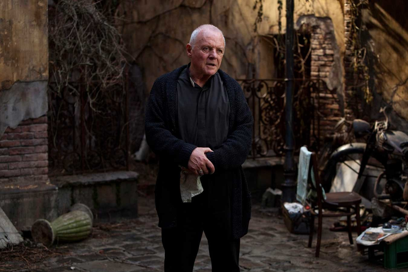 "Jacket for Anthony Hopkins, film ""The Rite"", costume designer Carlo Poggioli"