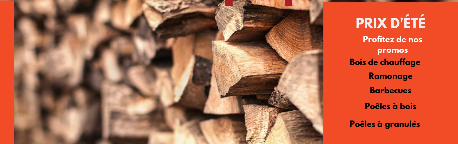 Votre commande de bois de chauffage