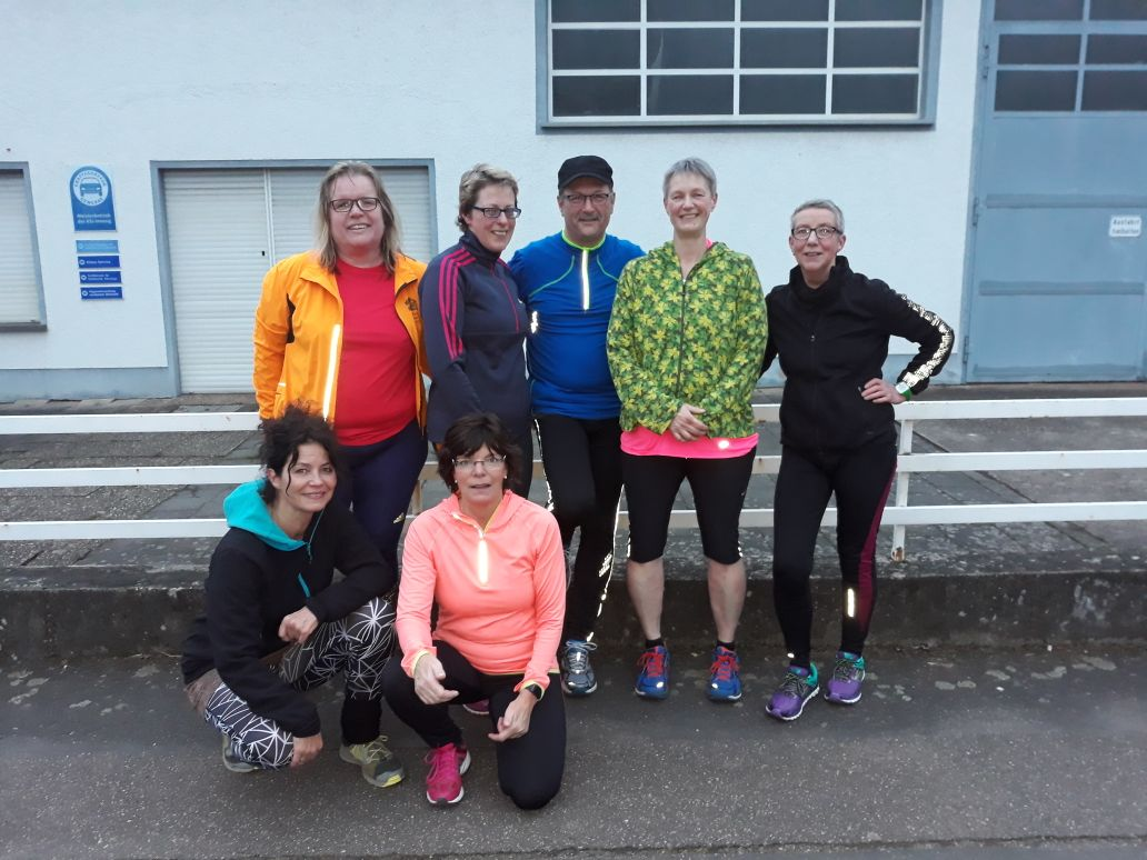 Trainingsgruppe Bonn-Halbmarathon 2018