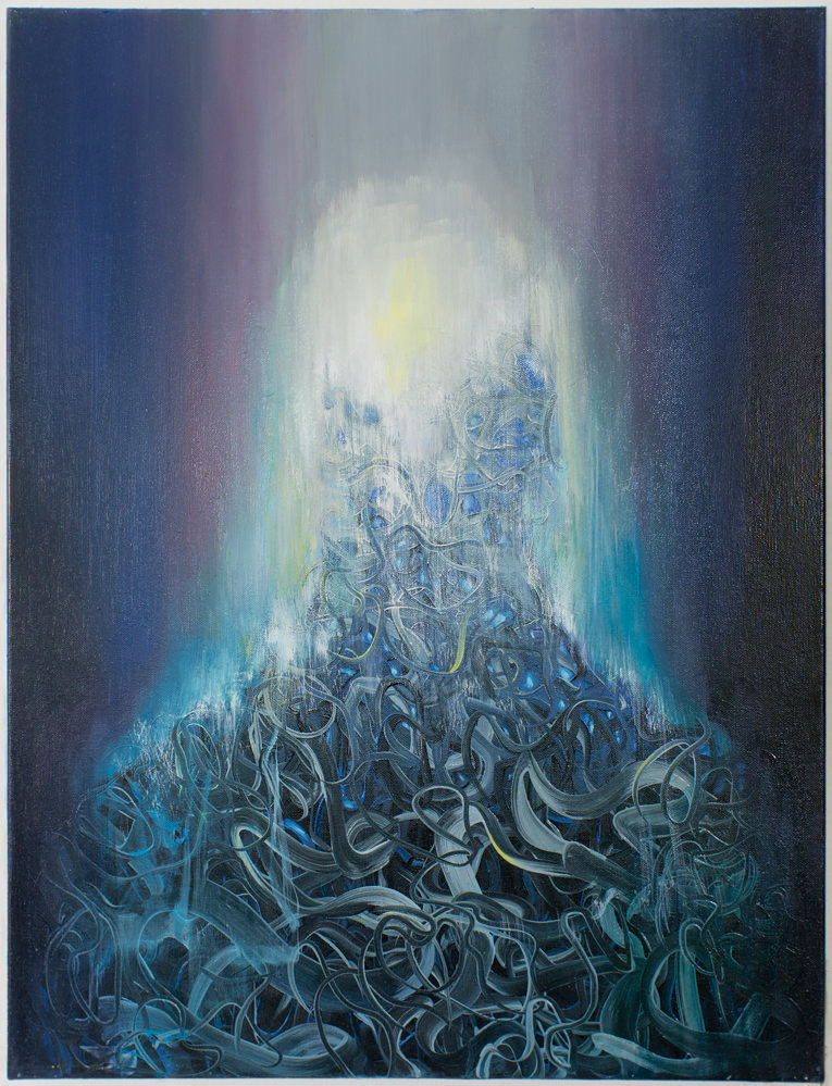Without Title (90 x 70 cm, oil on canvas, 2015) – sold