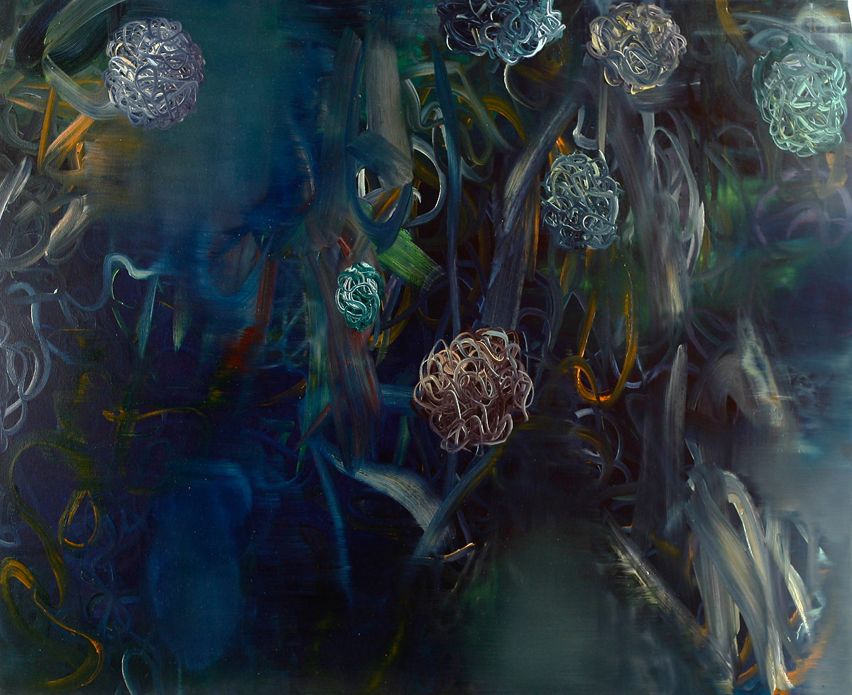 The Park 2 (120 x 160 cm, oil on canvas, 2014) – sold