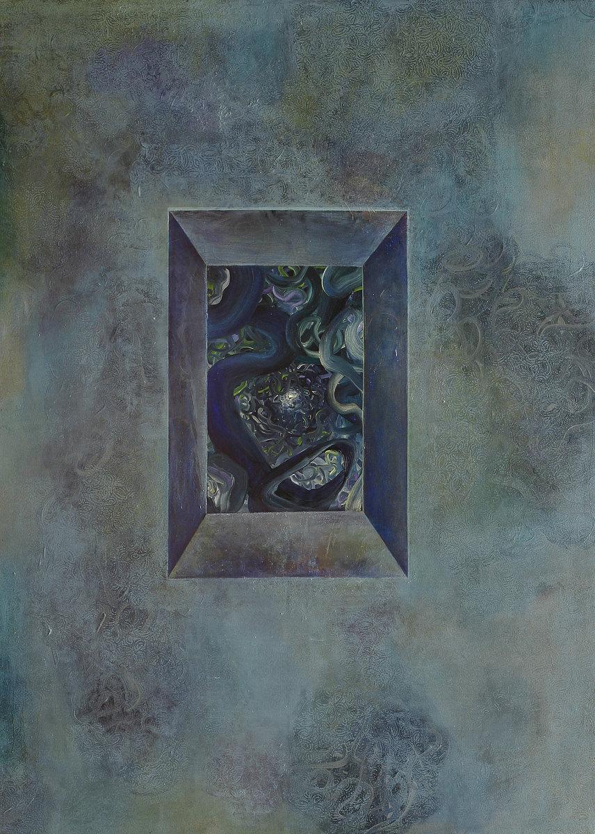 Window 3 (160 x 120 cm, oil on canvas, 2014)