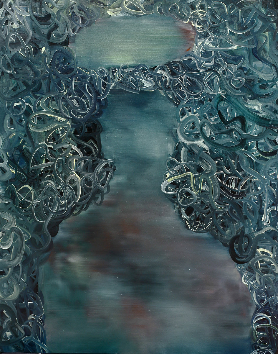 The Holy 2 (120 x 90 cm, oil on canvas, 2014)