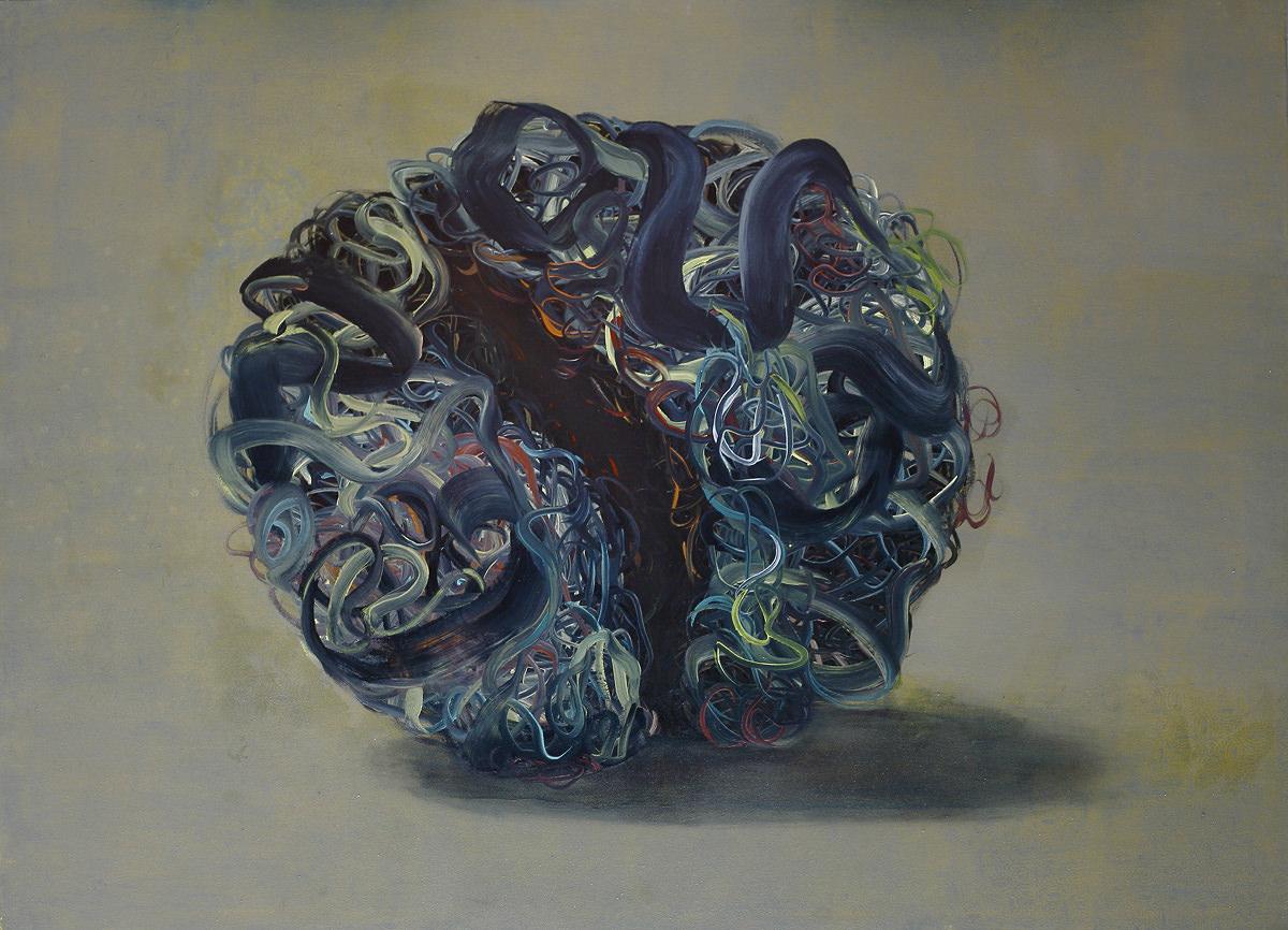 Still life (120 x 160 cm, oil on canvas, 2014)