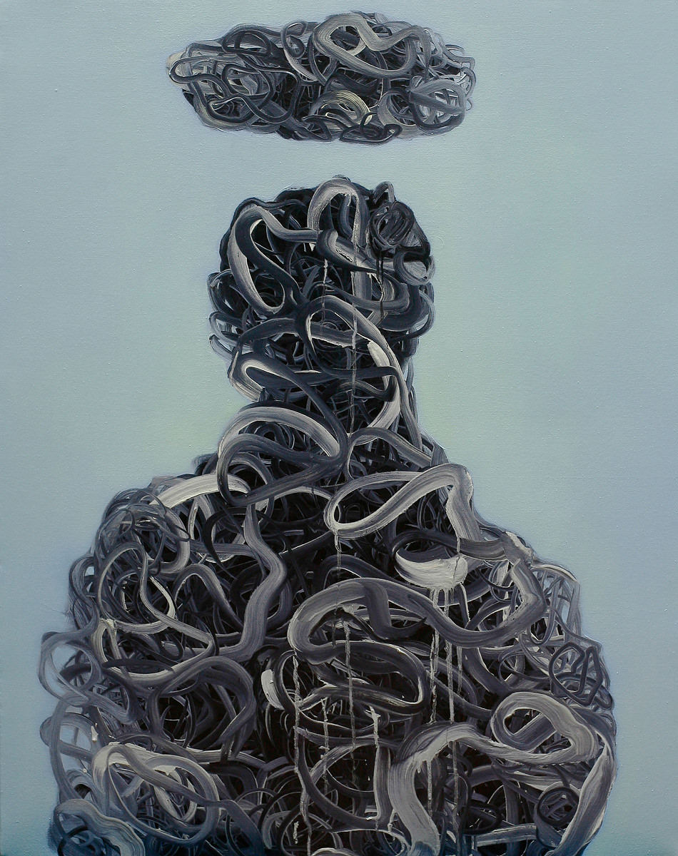 The Holy 3 (120 x 90 cm, oil on canvas, 2014)