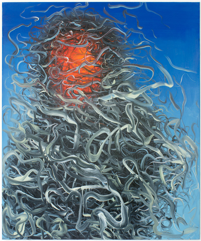 Sunrise (125 x 105 cm, oil on canvas, 2016)